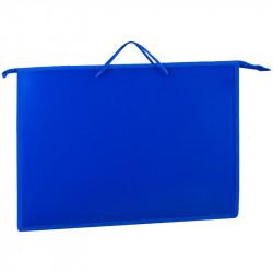 Папка для рисун. и черт. А3 синяя, с руч., пласт., ПР3_3415 ArtSpace