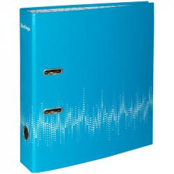 Файл Berlingo неоновый 70мм А4 голубой AMl70801