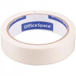 Клейкая лента бумажная 25мм*25м, белая OfficeSpace КЛ_18612