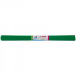 Бумага креповая в рулоне ArtSpace  50*200 см, 30 г/м2, растяжение 50%, зеленая GA18916