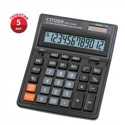 Калькулятор Citizen SDC-444S (черный) настольный 12р