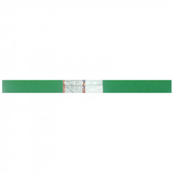 Бумага креповая в рулоне Werola 50*250 см, 32 г/м2, растяжение 55%, зеленая 12061-148