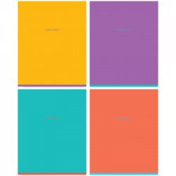 """Тетрадь 60л А5 клетка """"One color"""" мат. лам. N5c60-12905 Greenwich Line"""