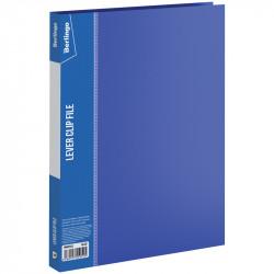 """Папка с зажимом Berlingo """"Standard"""" 17мм, 700мкм, карман, синяя MM2340"""