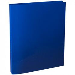 """Папка 4 кольца Berlingo """"Line"""" А4, 25мм, 500мкм, синяя ABp_42402"""