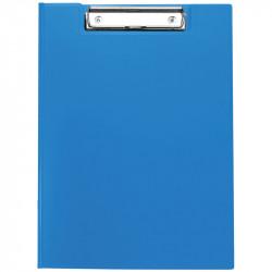 Папка-планшет с зажимом OfficeSpace А4, пластик, синий 245658
