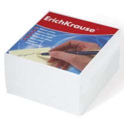 Блок для записей Erich Krause 9*9*5см белая ЕК2717