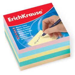 Блок для записей Erich Krause 9*9*5см ассорти ЕК5139
