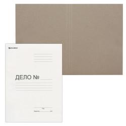 "Обложка картон Brauberg ""Дело №"" А4 белая 300гр/м2 124571 (вд)"