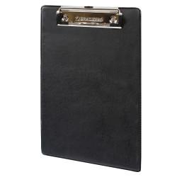 """Планшет с зажимом BRAUBERG """"NUMBER ONE A5"""" 15,8*23см, картон/ПВХ, черный 232224"""