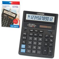 Калькулятор Citizen SDC-888TII (черный) настольный 12р