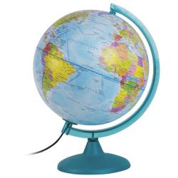Глобус D=25см полит., с подсвет. 10546 Глобусный мир