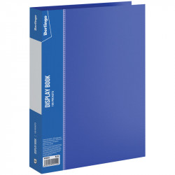 """Папка 100 ф. Berlingo """"Standard"""" синяя, 30мм, 800мкм MT2453"""