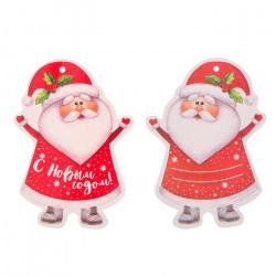 Мини-открытка «Дедушка Мороз/Елка» 3566102/1385505  Арт Узор