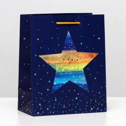 """Пакет подарочный """"Волшебная звезда"""" 18*22,3*10см 6344223 SL"""