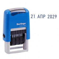 """Мини-датер ленточный автоматич. """"Printer 7810"""" h=3мм с буквами Berlingo BSt_82201"""