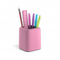 """Офисный набор Erich Krause """"Forte Pastel"""" 6 предм., розовый/серый ЕК53279"""