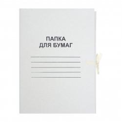 """Папка-скоросш. картон Calligrata """"Дело №"""" А4 белая, немелов. (370гр/м2) 5202246 SL"""