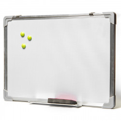 Доска магнитно-маркерная Alingar 35*50 см, алюмин. рамка AL-2303