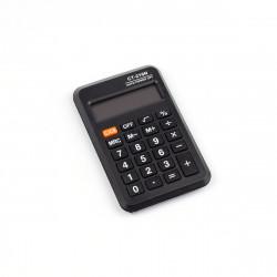 Калькулятор Alingar CT-21ON (черный) 90*60*7мм, карманный 8р AL6328