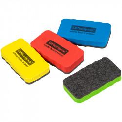 Губка для маркерной доски OfficeSpace 57*107мм материал EVA, магнит, ассорти 261122