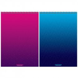 """Блокнот А4 80л """"Bright modern"""" гребень, тв. подл. Б4к80гр_27701 ArtSpace"""