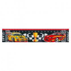 """Закладка - линейка для книг """"Машинки"""" картон, ассорти Мир Открыток 4570068 SL"""