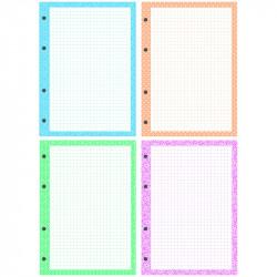 Сменный блок для тетрадей на кольцах А5 200л дизайнерский блок СБц200к_14427 OfficeSpace
