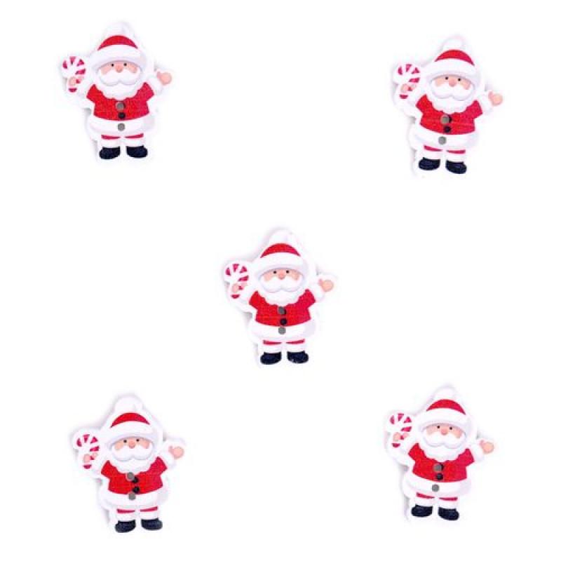 Декор из дерева, ''НГ - Дед Мороз, Снеговик'' 1шт ч19522/23