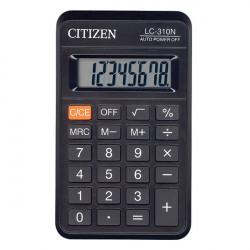 Калькулятор Citizen LC-310N (черный) карманный 8р