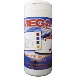 Салфетки чистящие для магнитно-маркерных досок Promega Office White Clean (100шт) 134429