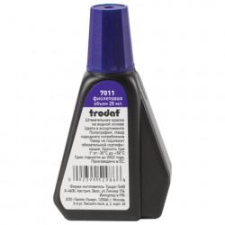 Штемпельная краска 28мл фиолетовая Trodat 7011