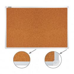 Доска пробковая BRAUBERG 60*90 см, алюм. рамка, РОССИЯ, 231712