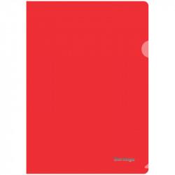 Папка-уголок А4 Berlingo плотн. пласт., 180мкм, красный AGp_04103