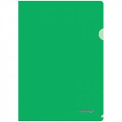 Папка-уголок А4 Berlingo плотн. пласт., 180мкм, зеленый AGp_04104